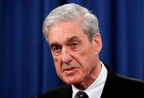 Special Counsel Robert Mueller speaks at the Department of Justice in Washington, about the Russia investigation. House Democrats say preparations for next week's testimony by the special counsel in the Russia investigation include re-reading the report and watching old video of Mueller's testimony on other mattersCongress Mueller Tesitimony, Washington, USA - 29 May 2019