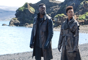 "David Ajala and Sonequa Martin-Green, ""Star Trek: Discovery"""