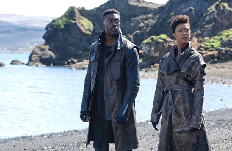 "David Ajala and Sonequa Martin-Green, ""Star Trek: Discovery"""