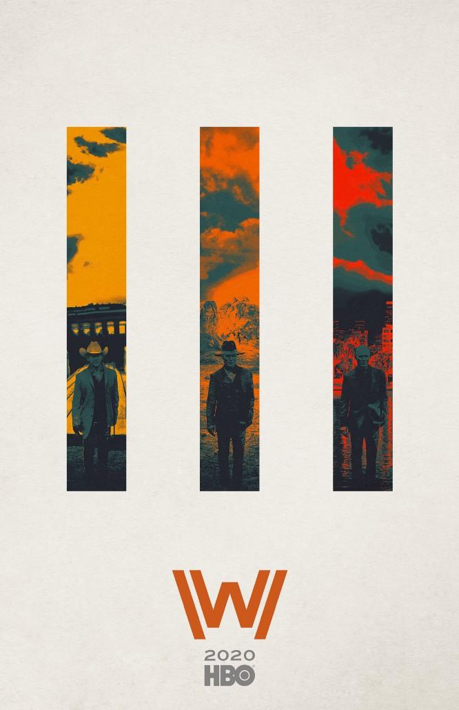 """Westworld"" Season 3 - Ed Harris character poster"