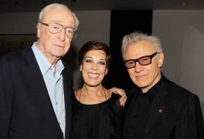 Sir Michael Caine, Peggy Siegal and Harvey Keitel'Youth' film luncheon, New York, America - 19 Nov 2015A Luncheon in Celebration of Pablo Sorrentinos 'Youth'