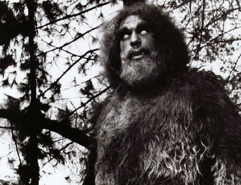 "Andre the Giant as Bigfoot, ""The Six Million Dollar Man"""