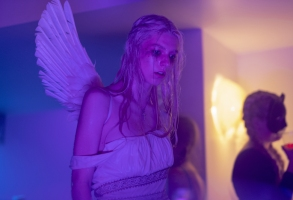 "Hunter Schafer in ""Euphoria"" HBO Season 1"