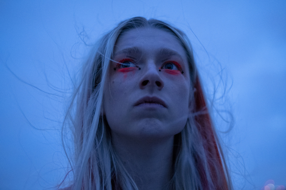"Hunter Schafer in ""Euphoria"" Season 1 HBO Episode 7"