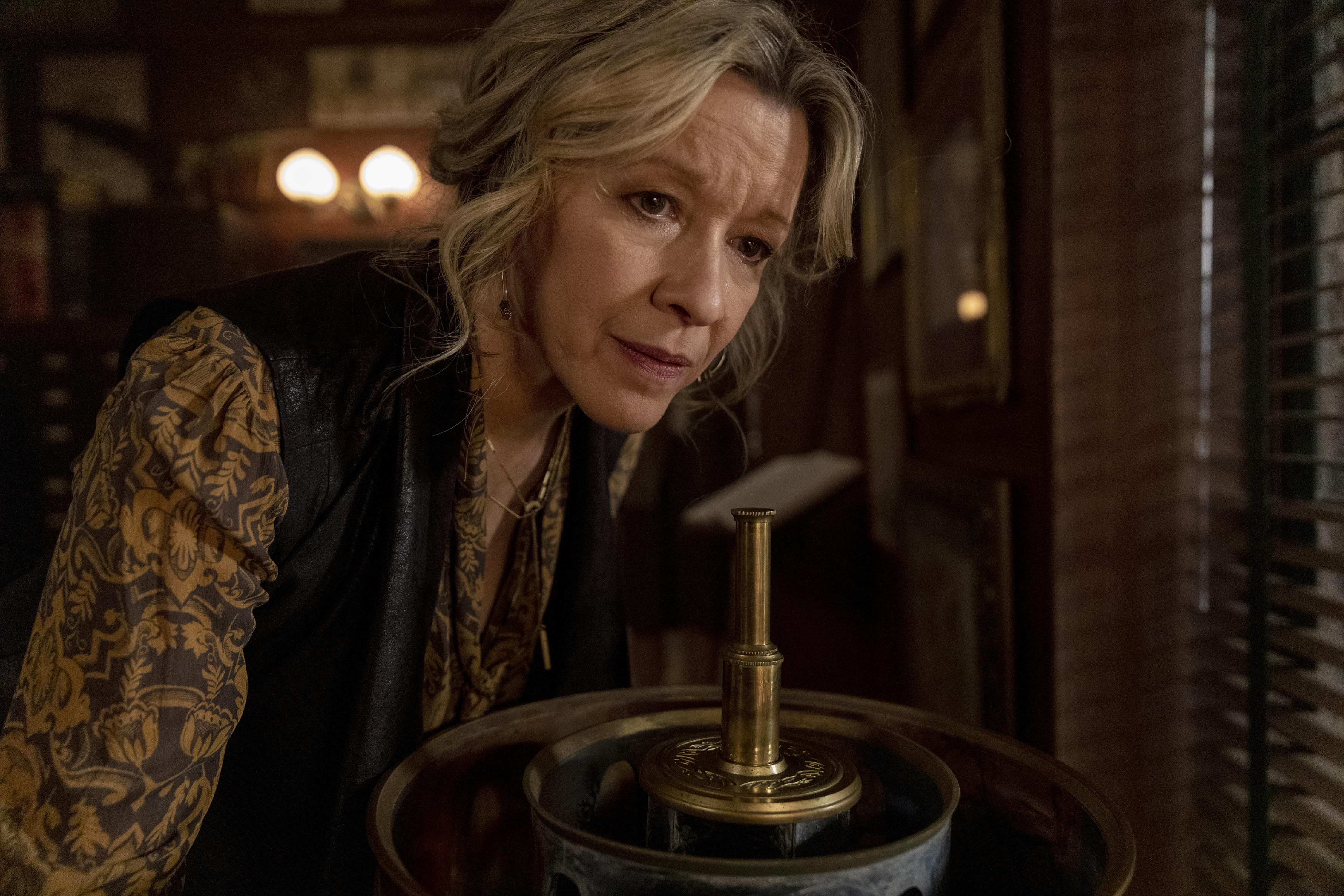 Linda Emond as Connie Wright- Lodge 49 _ Season 2 - Photo Credit: Jackson Lee Davis/AMC