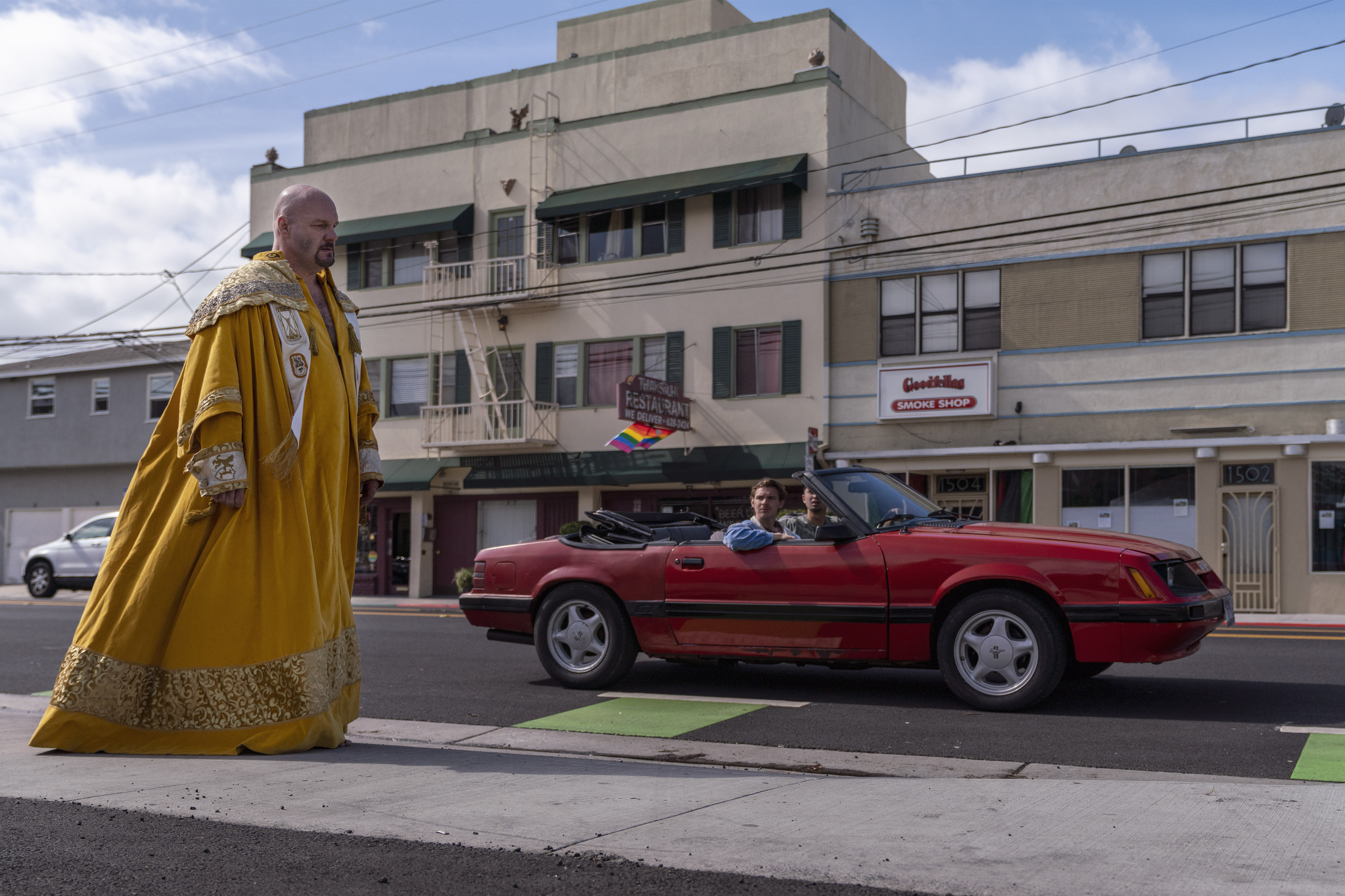 Eric Allan Kramer as Scott Wright - Lodge 49 _ Season 2 - Photo Credit: Michael Moriatis/AMC