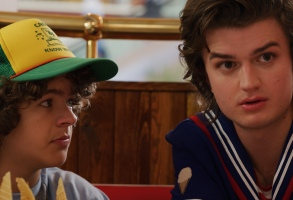 "Gaten Matarazzo and Joe Keery, ""Stranger Things"""