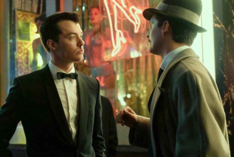 "Jack Bannon and Ben Aldridge in ""Pennyworth"""