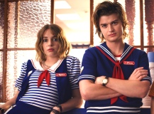 "Maya Hawke and Joe Keery, ""Stranger Things"""