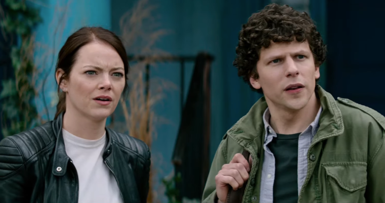 Emma Stone and Jesse Eisenberg are back fighting the undead in Zombieland: Double Tap.