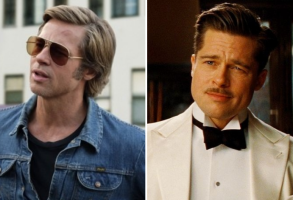 """Once Upon a Time in Hollywood"" and ""Inglourious Basterds"""