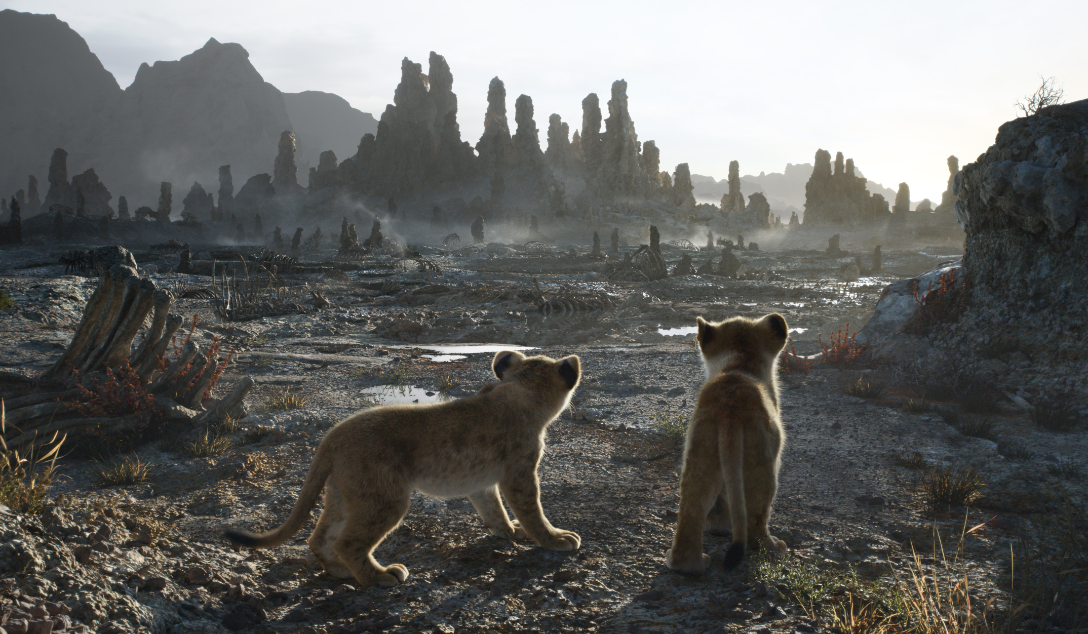 """THE LION KING - Featuring the voices of JD McCrary as Young Simba and Shahadi Wright Joseph as Young Nala, Disney's """"The Lion King"""" is directed by Jon Favreau. In theaters July 19, 2019. © 2019 Disney Enterprises, Inc. All Rights Reserved."""