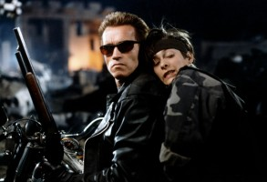 Editorial use only. No book cover usage.Mandatory Credit: Photo by Moviestore/Shutterstock (2762700b)Terminator 2 3-D Battle Across Time, Arnold Schwarzenegger, Edward FurlongTerminator 2: 3D Battle Across Time - 1996