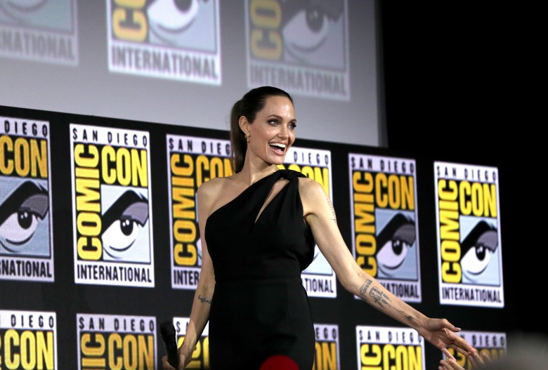 Angelina JolieMarvel Studios panel, Comic-Con International, San Diego, USA - 20 Jul 2019