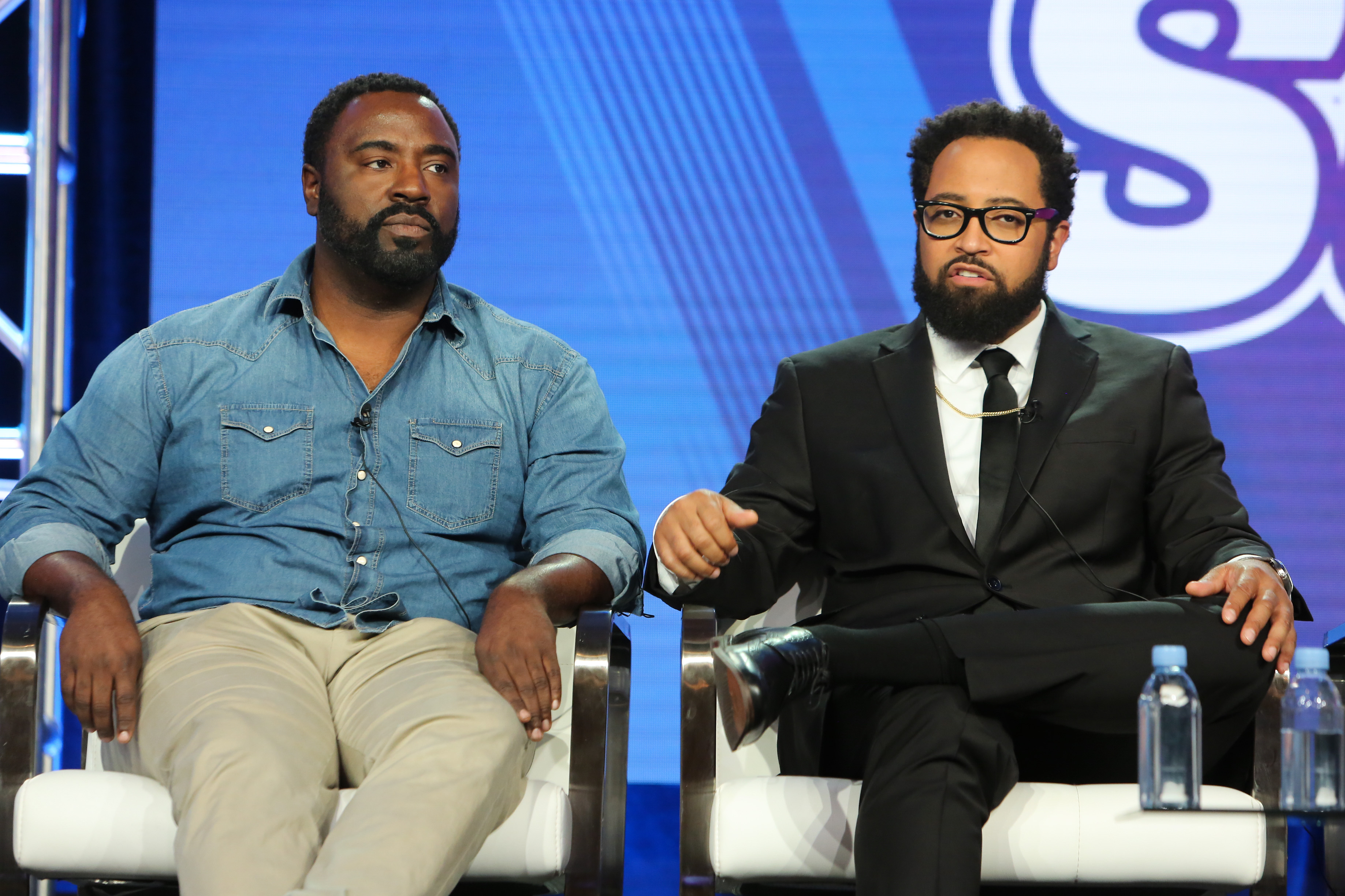 Bashir Salahuddin and Diallo RiddleComedy Central 'South Side' TV Show Panel, TCA Winter Press Tour, Los Angeles, USA - 11 Feb 2019