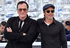 Quentin Tarantino and Brad Pitt'Once Upon A Time in Hollywood' photocall, 72nd Cannes Film Festival, France - 22 May 2019