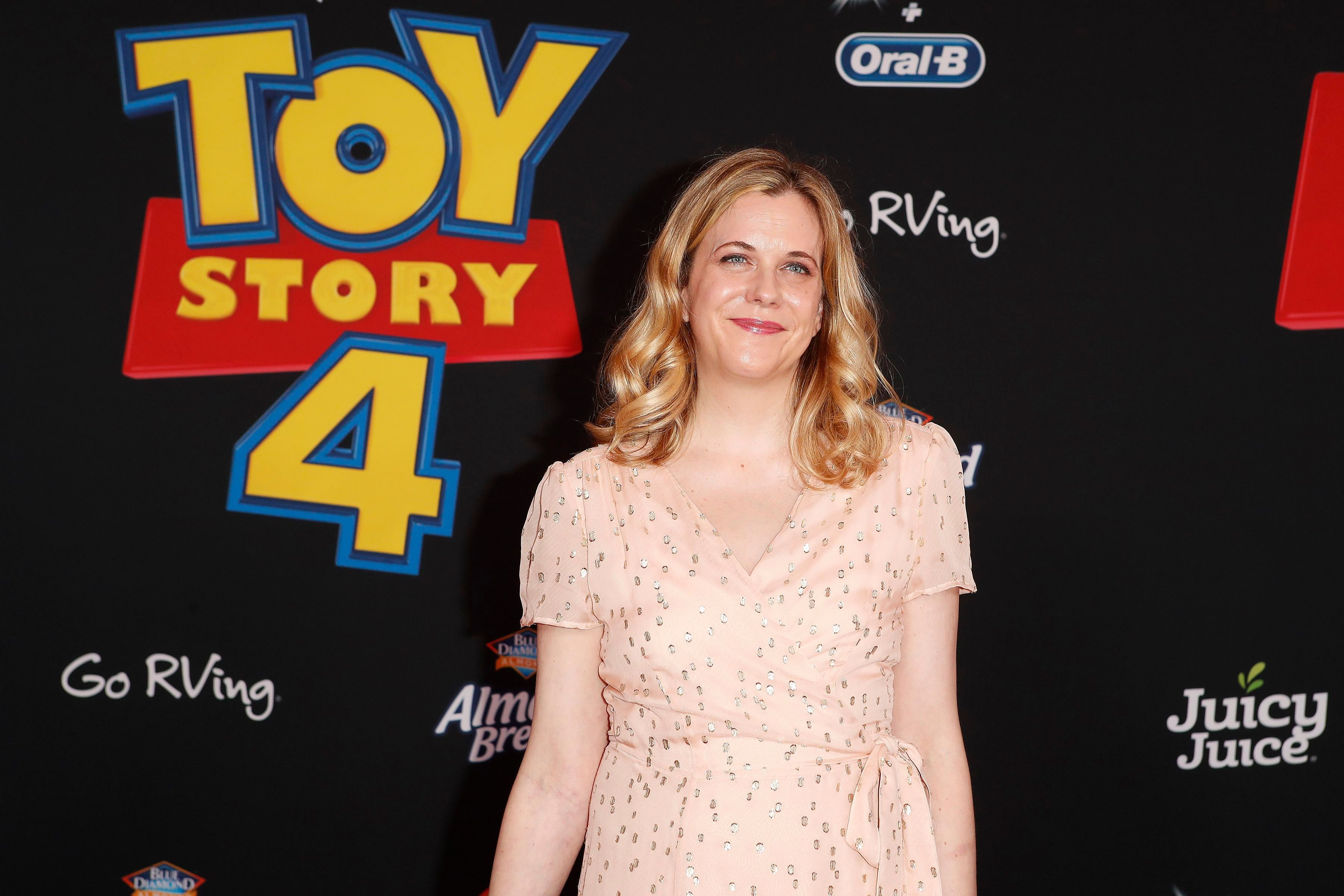 US writer Stephany Folsom arrives for the world premiere of 'Toy Story 4' at the El Capitan Theatre in Hollywood, Los Angeles, California, USA, 11 June 2019. The movie opens in the USA on 21 June 2019.World premiere of 'Toy Story 4' in Hollywood, Los Angeles, USA - 11 Jun 2019