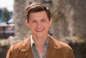 Tom Holland poses for photographers upon arrival at the photo call for 'Spiderman: Far From Home' in LondonSpiderman: Far From Home Photo Call, London, United Kingdom - 17 Jun 2019