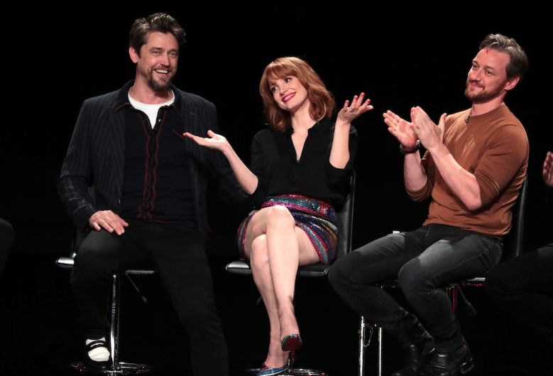 Andy Muschietti, Director, Jessica Chastain, James McAvoyNew Line Cinema's 3rd annual ScareDiego presents IT CHAPTER TWO at San Diego Comic-Con 2019, San Diego, USA - 17 July 2019