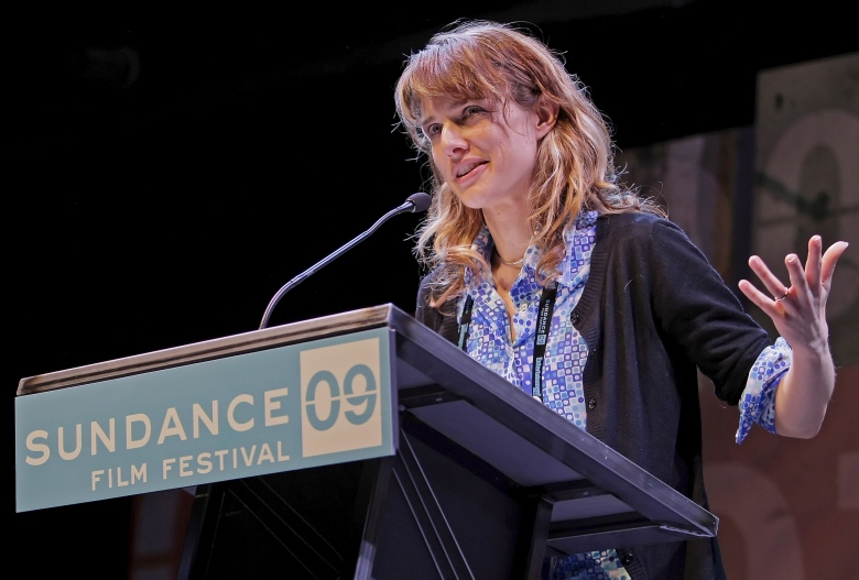 U S Director Lynn Shelton Receives the Special Jury Prize For U S Dramatic For the Movie 'Humpday' at the 2009 Sundance Film Festival Awards Night in Park City 24 January 2009Usa Sundance Film Festival 2009 Awards - Jan 2007