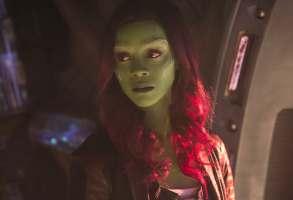 Zoe Saldana in Avengers