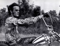 Editorial use only. No book cover usage.Mandatory Credit: Photo by Columbia/Kobal/Shutterstock (5885924z)Peter FondaEasy Rider - 1969Director: Dennis HopperColumbiaUSAScene StillDrama