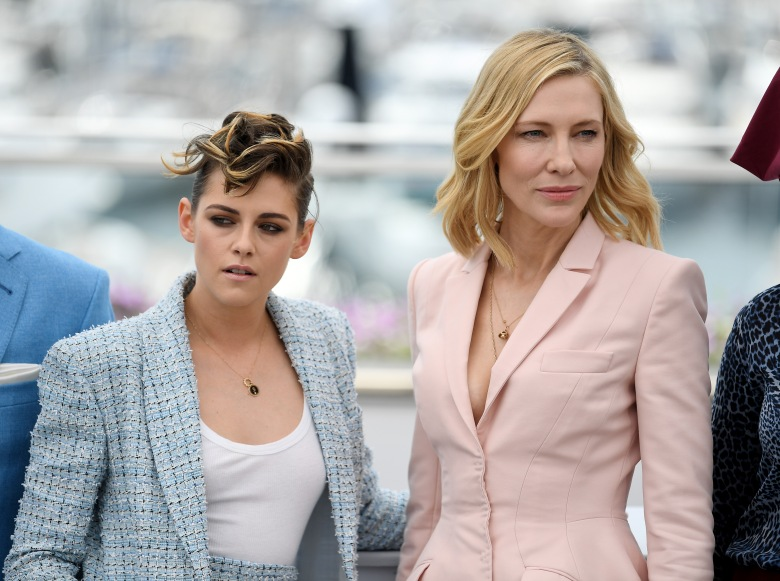 Kristen Stewart and Cate BlanchettJury photocall, 71st Cannes Film Festival, France - 08 May 2018