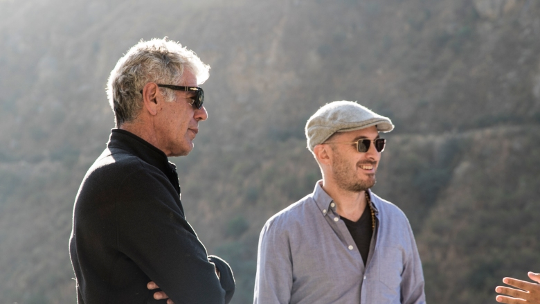 Anthony Bourdain: Parts Unknown- Bhutan 12/7/15 Tony & Darren hear about the environmental impacts of Bhutan's Hydro electric dam from Dr. Nawang Norbu at the School