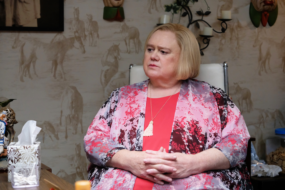 """BASKETS -- """"Grandma's Day"""" Episode 8 (Airs Thursday, August 8, 10:00 pm/ep) -- Pictured: Louie Anderson as Christine Baskets. CR: Erica Parise/FX"""