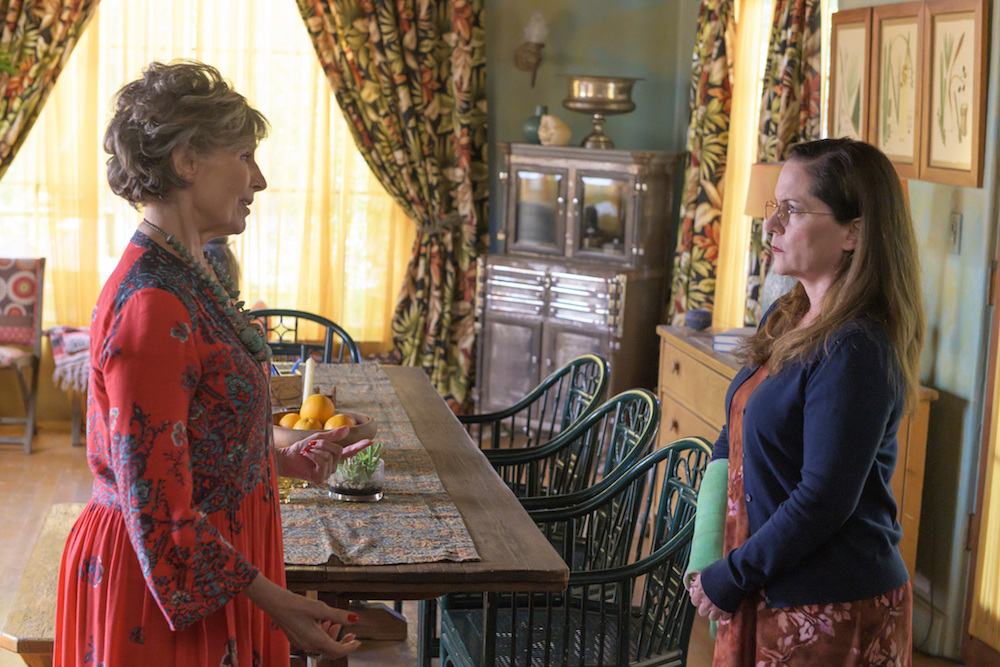 """BASKETS -- """"Moving On"""" Season 4, Episode 10 (Airs Thursday, August 22, 10:00 pm/ep). Pictured: (l-r) Andrea Marcovicci as Tammy, Martha Kelly as Martha. CR: Prashant Gupta/FX."""