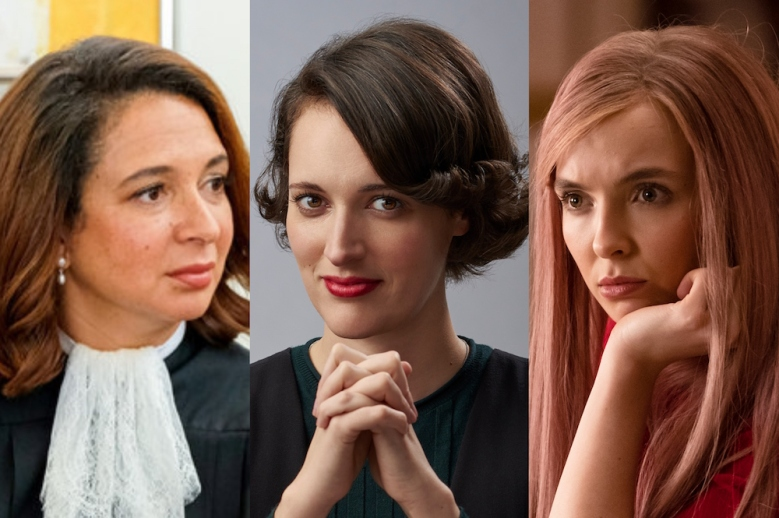Maya Rudolph, Phoebe Waller-Bridge, and Jodie Comer Emmys 2019