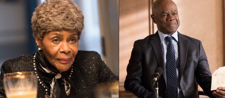 "Cicely Tyson and Glynn Turman, ""Hot to Get Away With Murder"""