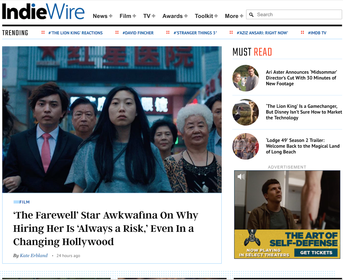 IndieWire Announces New Film and TV Hires, Hits Record