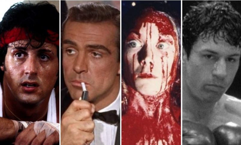 """""""Rocky II,"""" """"Dr. No,"""" """"Carrie,"""" and """"Raging Bull"""""""