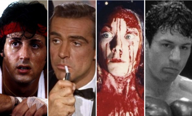 """Rocky II,"" ""Dr. No,"" ""Carrie,"" and ""Raging Bull"""