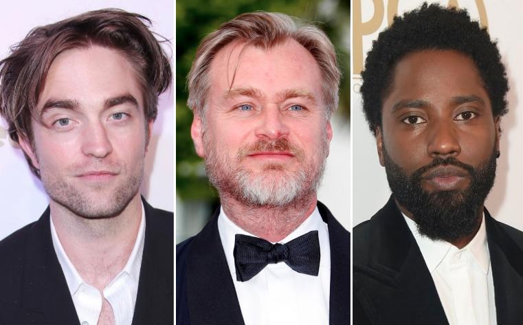 Tenet Robert Pattinson, Christopher Nolan, John David Washington
