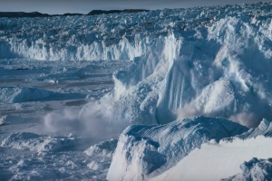 Here's What It Sounds Like When a 75-Ton Glacier Crumbles on 'Our Planet'