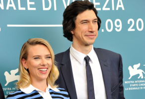 Scarlett Johansson and Adam Driver