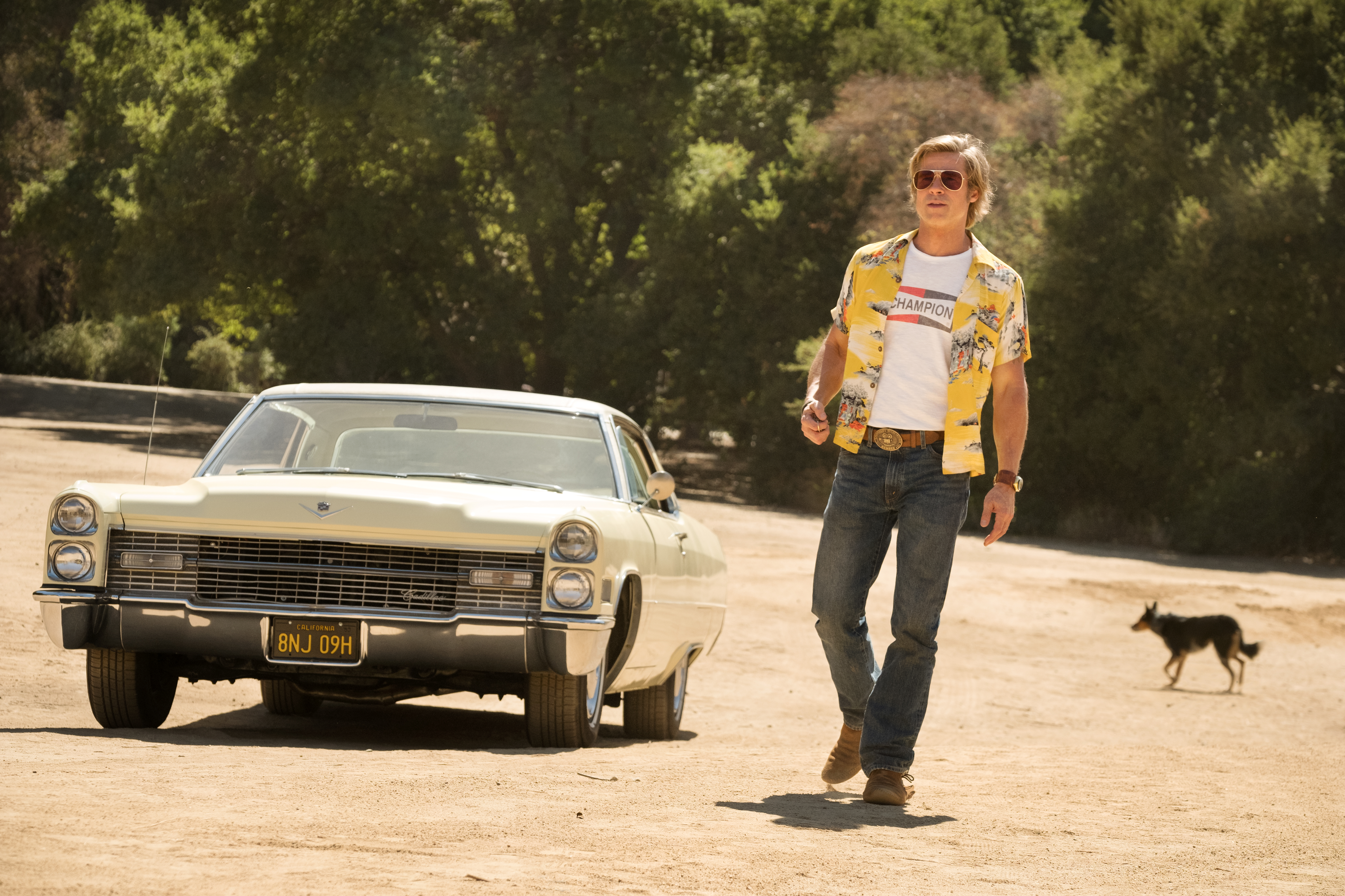 Brad Pitt stars in ONCE UPON A TIME IN HOLLYWOOD.