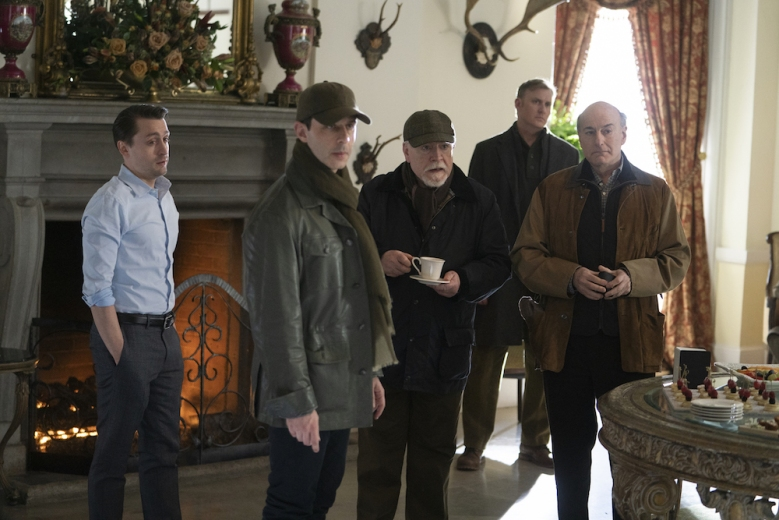 Succession Season 2 HBO cast