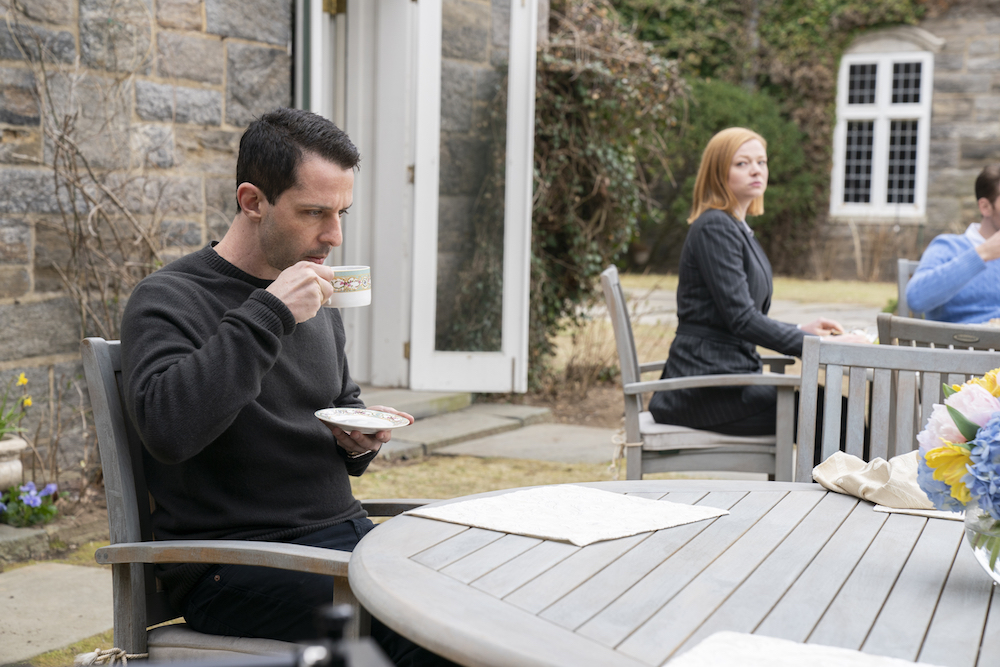 Succession Season 2 Jeremy Strong Sarah Snook