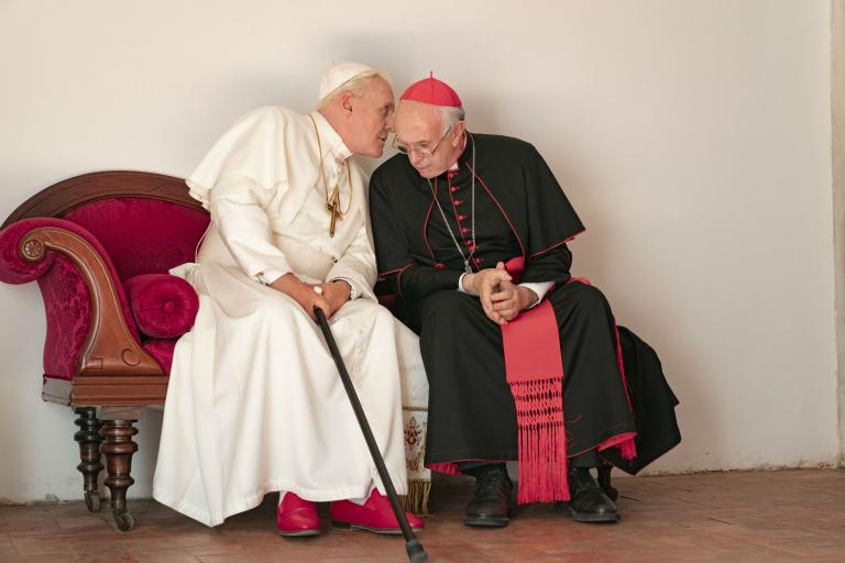 'The Two Popes' Review: A Charming Buddy Movie About the Future of the Catholic Church