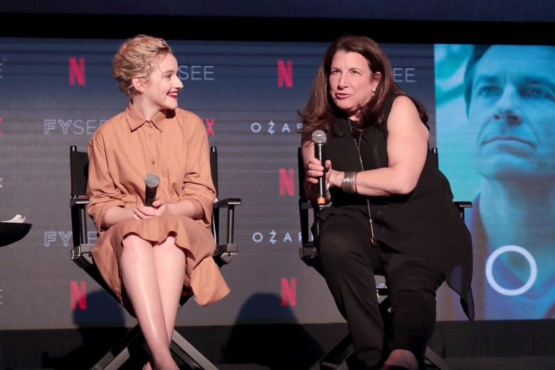 Julia Garner, Alexa L. Fogel Netflix FYSEE Scene Stealers Panel featuring 'Mindhunter', 'Ozark', 'Orange is the New Black', 'Godless', and 'Stranger Things' at Netflix FYSEE, Los Angeles, CA, USA - 10 May 2018