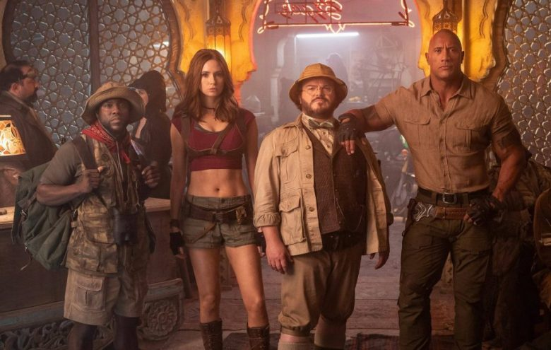 'Jumanji: The Next Level' Starts Strong as Clint Eastwood Crumbles With 'Richard Jewell'
