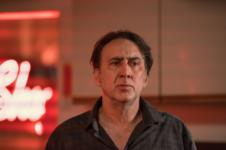 "Nicolas Cage in ""A Score to Settle"""