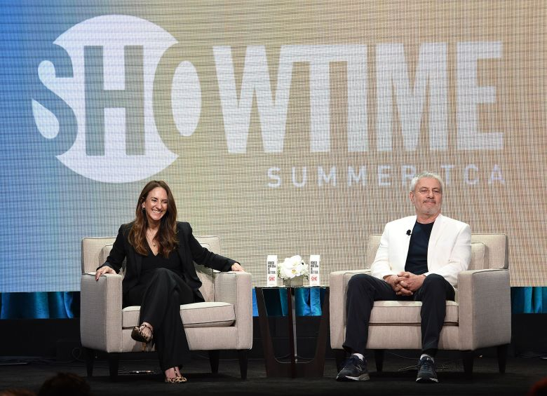Jana Winograde and Gary LevineShowtime 'The L Word: Generation Q' TV show panel, TCA Summer Press Tour, Los Angeles, USA - 02 Aug 2019