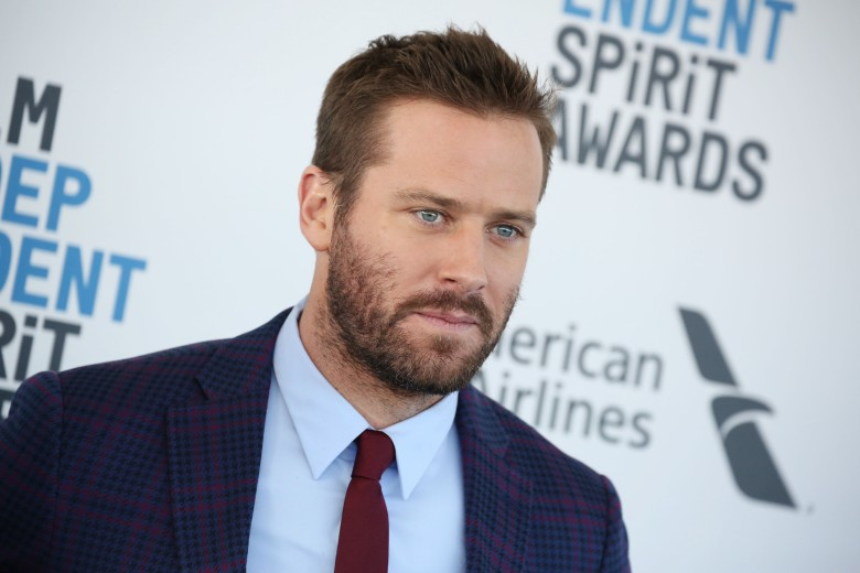 Armie Hammer34th Film Independent Spirit Awards, Arrivals, Los Angeles, USA - 23 Feb 2019