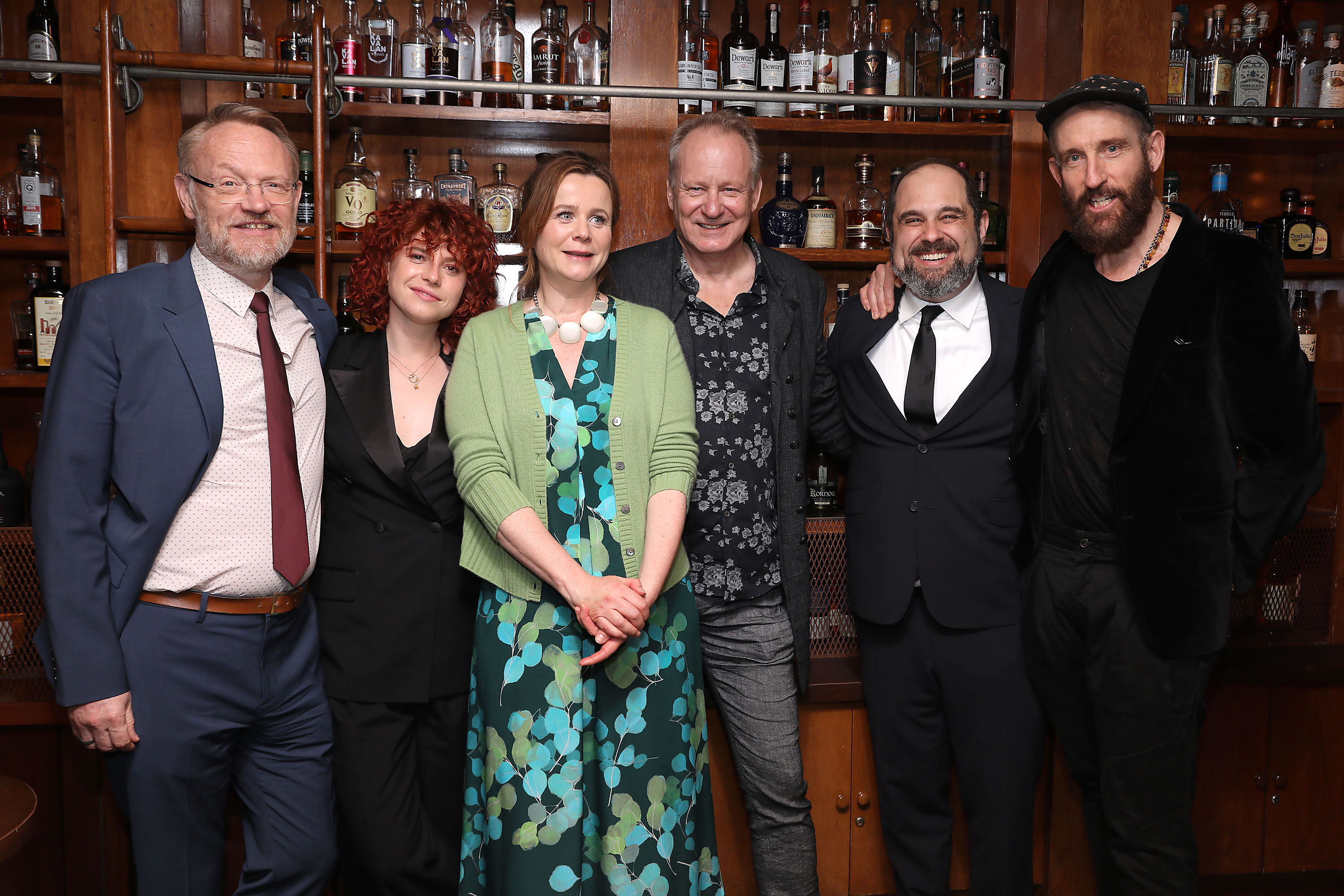 "Jared Harris, Jessie Buckley, Emily Watson, Stellan Skarsgard, Craig Mazin (Creator) and Johan Renck (Director)World Premiere of HBO's ""Chernobyl"" at the 18th Tribeca Film Festival - Afterparty - 26 Apr 2019"