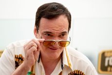 American writer and film director Quentin Tarantino pose for photographers prior to the premiere of the movie 'Once Upon A Time in Hollywood' in Moscow, RussiaRussia Movie Premiere, Moscow, Russian Federation - 07 Aug 2019