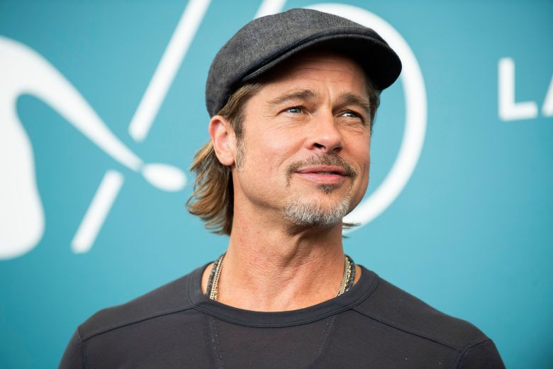 Brad Pitt poses for photographers at the photo call for the film 'Ad Astra' at the 76th edition of the Venice Film Festival in Venice, ItalyFilm Festival 2019 Ad Astra Photo Call, Venice, Italy - 29 Aug 2019